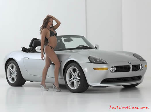 2000 BMW Z8 with a sexy brunette