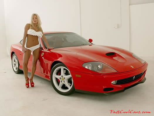 Car Scoop Cool Cars And Girls Red Hot 2000 Ferrari 550