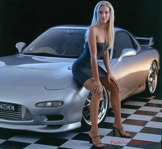 Mazdaspeed with model