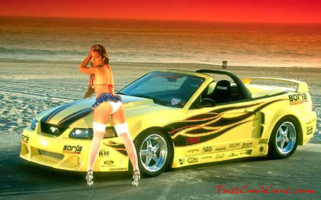 Pretty Lady - Fast Cool Cars