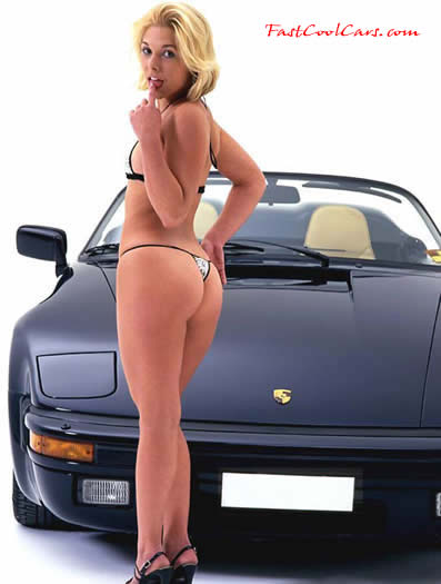 Cars Porsche Speedster And Sexy Girls Wallpaper