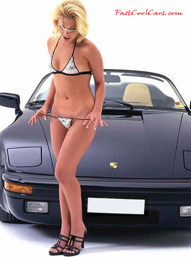 Some Very Nice Sexy Ladies and Fast Porsche Cars
